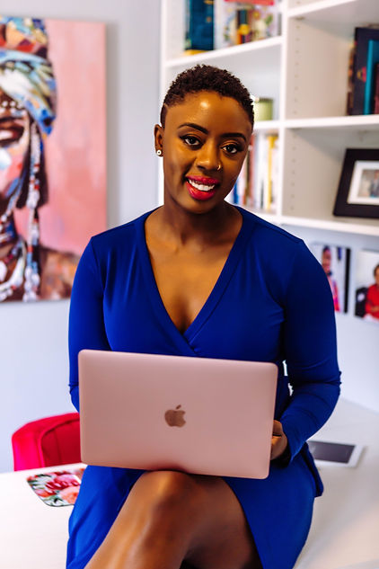 Radiance Book Woman Laptop