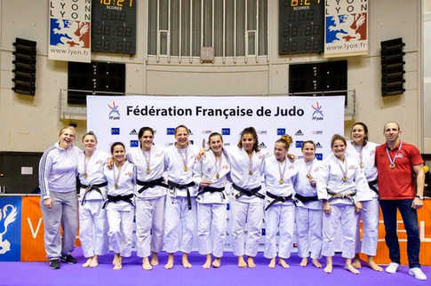 Médaille de bronze par équipe 2016