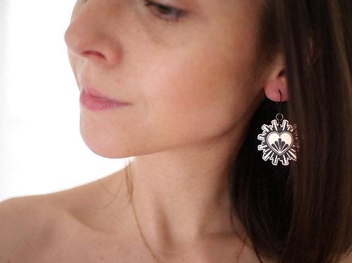 Boucles d'oreilles LYRA