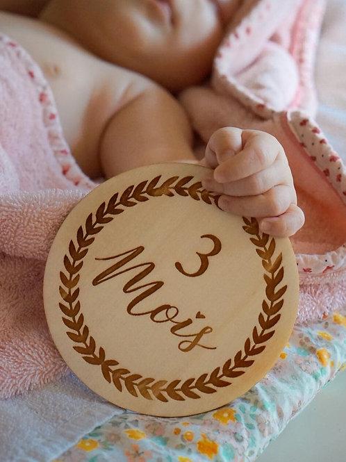 12 cartes étapes bébé premiers mois