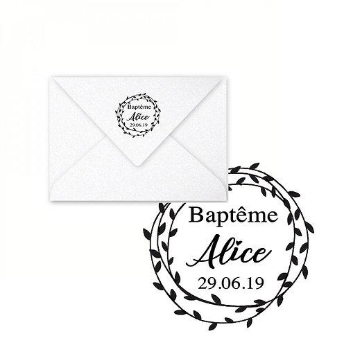 Tampon - Baptême -
