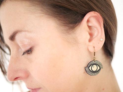 Boucles d'oreilles OCUS