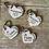 Thumbnail: Porte clef je t'aime/Amoureux/Amoureuse - bois -