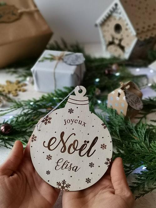 Mon premier Noël/ Joyeux Noël - décoration personnalisable