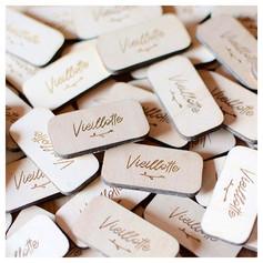 Petites étiquettes en bois pour _vieillo