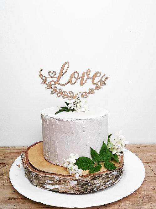 Cake Topper -Love-