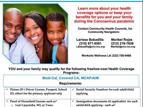 Need help with your Medi-Cal or Covered CA Coverage?