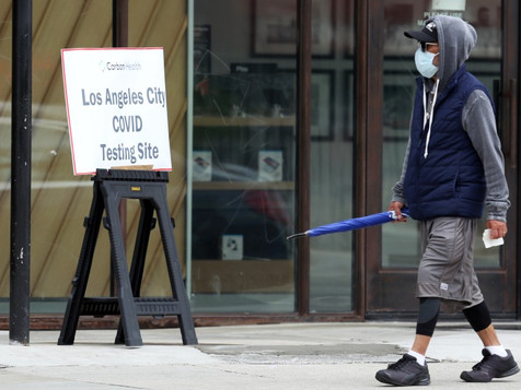 Walk-up coronavirus testing site opens in South L.A.