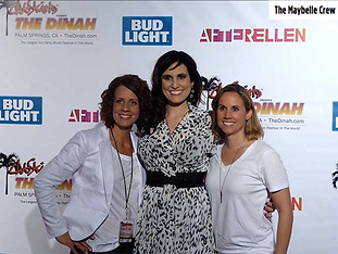 """Fran Nichols"" Bridget McManus and Christin Baker at Club Skirts Dinah Shore 2016"