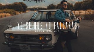 En tiempos desafiantes, Josué Del Cid declara: «Yo sé que no fallarás»