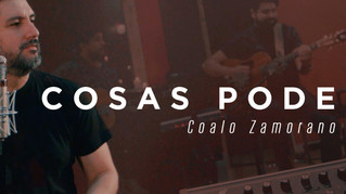 Coalo Zamorano da a conocer la versión acústica del tema «Cosas poderosas»