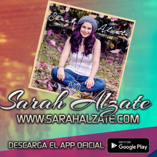Sarah Alzate presenta su canción <<Gracias>>