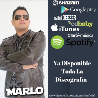 MC Marlo (Marlo Aguilar) lanza toda su discografía para que la escuches completamente gratis!