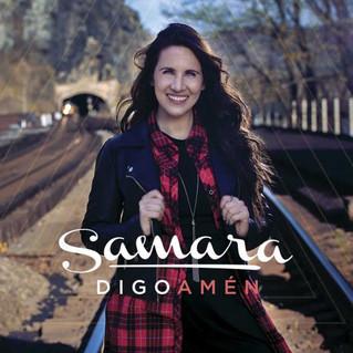Samara lanzará en Expolit «Digo amén», su nuevo sencillo y video musical