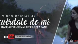 Idabelle Vélez lanza nuevo videoclip junto a Pepe López Band