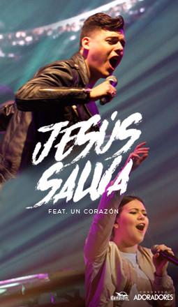 Presentan tema «Jesús salva» en las voces de Marcos Witt y Un Corazón