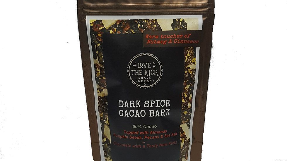 Dark Spice Cacao Bark (Pouch)