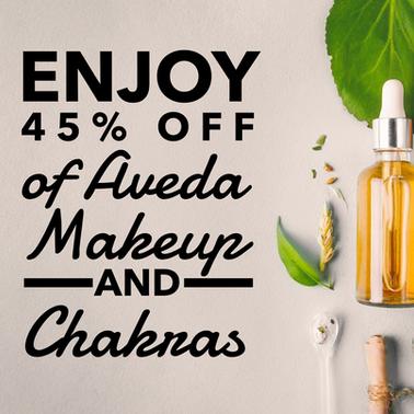 45% Off Makeup and Chakra