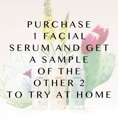 Facial Serums Now Available!