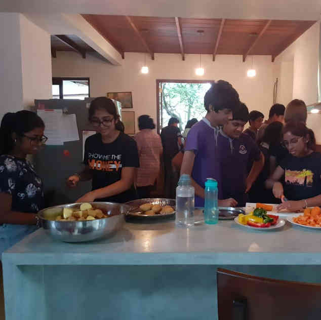 AK Community Cooking 21.06.19