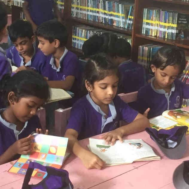 Visit to the Dehiwala Public Library