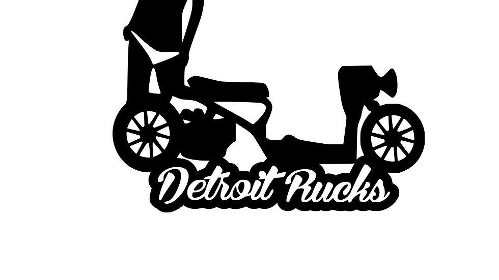 Detroit Rucks Bikini Girl