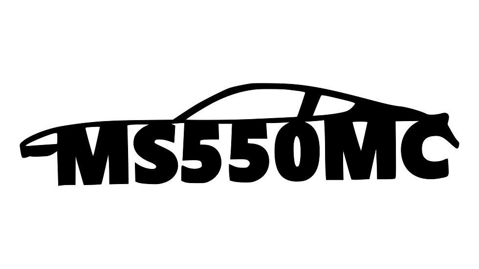 MI S550 Club Decal