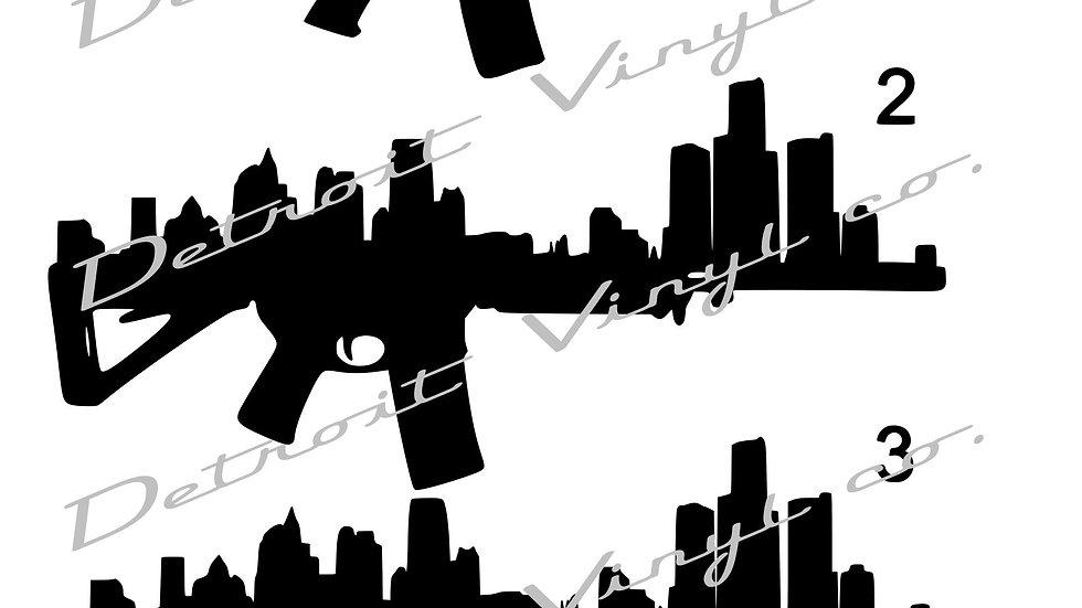 Detroit Skyline AR15
