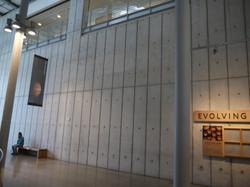 Museum Concrete Walls