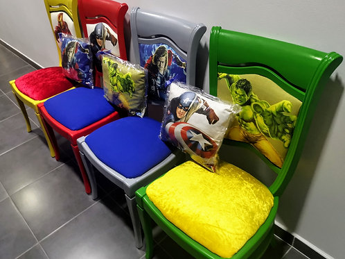 Set of Marvel Chairs