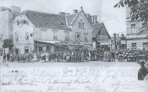 Historisches-Foto-des-Lendplatzl-am-Lend