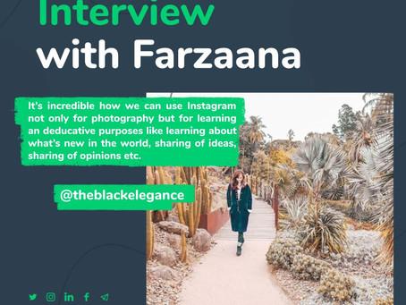 5 Minutes of Truth with Farzaana