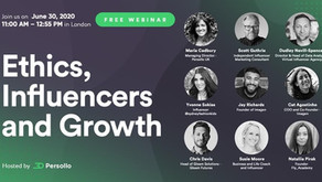 Persollo Webinar 3: Ethics, Influencers and Growth