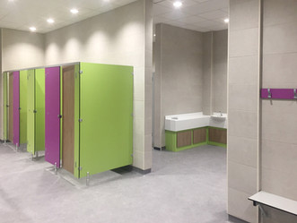 With the installation of the finishes at Great Sankey Neighbourhood Hub ... it is starting to come t