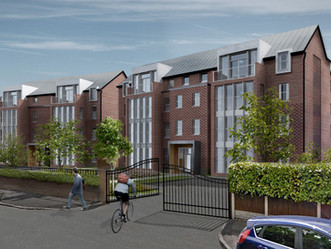 Livingston Drive apartments and mews houses submitted for planning