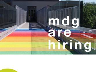MDG are hiring