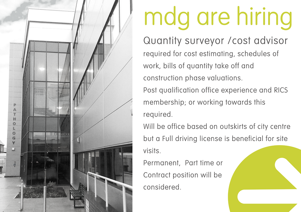 Quantity surveyor required for Liverpool Office.