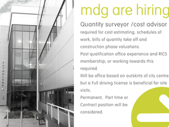MDG are Hiring!!