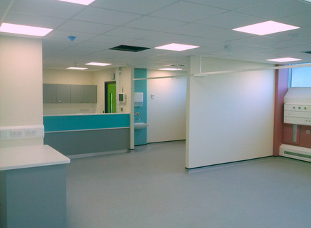 The Main A Theatres and Theatre Recovery Suite are now complete at Aintree Hospital - Another succes