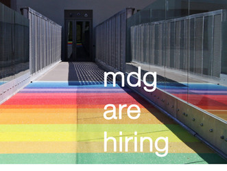 MDG are hiring!
