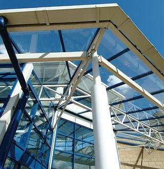 Design, entrance, steel, hospital