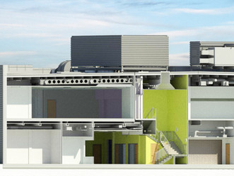 Using Revit software to model our dementia friendly leisure centre, we have worked collaboratively w