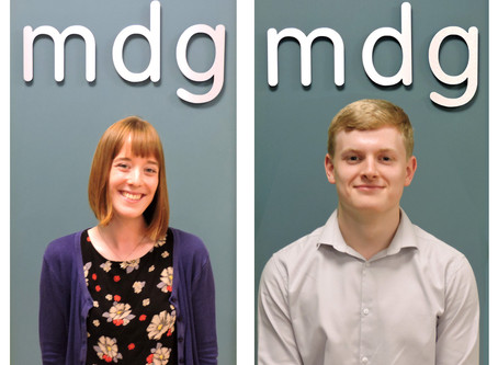 Meet the New Members of the MDG Team