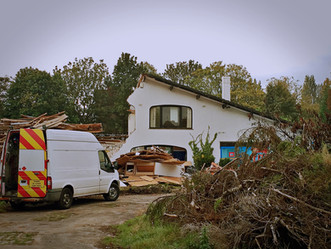 Demolition has begun on the Wheelhouse site