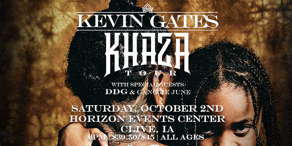 Kevin Gates - Khaza Tour