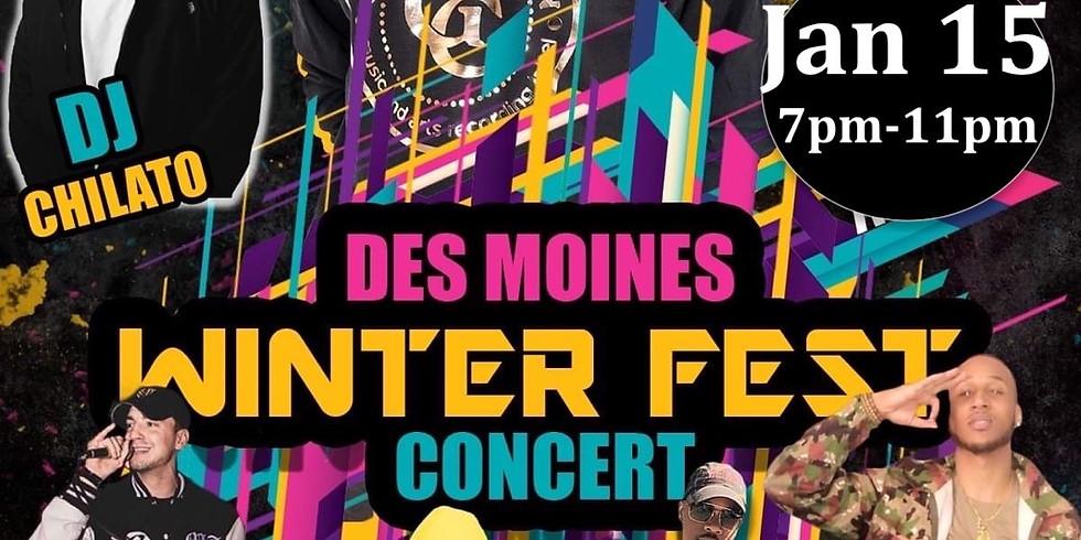 Des moines Winter Fest Concert