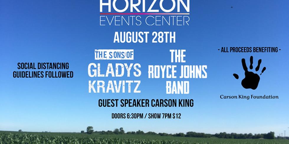 POSTPONED Royce Johns Band & The Sons of Gladys Kravitz
