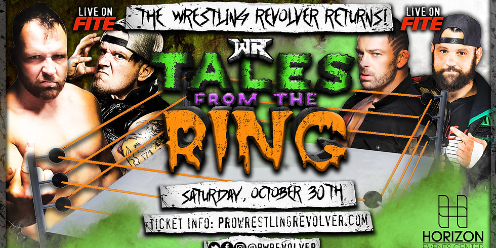 Wrestling Revolver - TALES FROM THE RING 3
