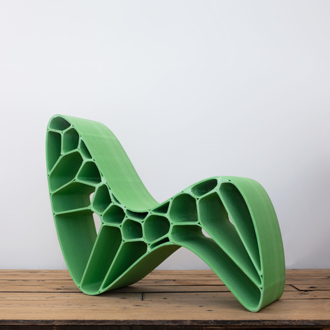 Morphy Chair by Arwin Hidding and Eliza Noordhoek [Custum edition N=1 via Dutch Chairmen]