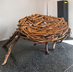 Eyrie Bench by Floris Wubben [2014, Unique AP, additionally to 10 chairs]